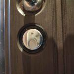 Клиент попросил установить защиту цилиндра, так как пакостные неадекватные соседи заливали клеем, было принято врезать магнитную броненакладку disec
